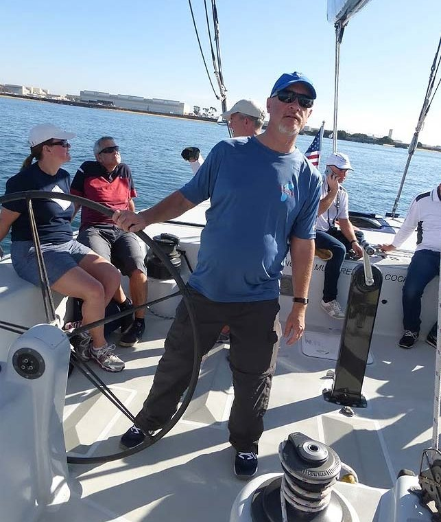 sailing captain and instructor tim dittloff
