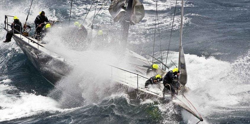 rough seas sailing