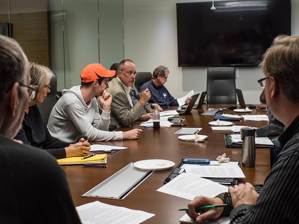 team building executive meeting