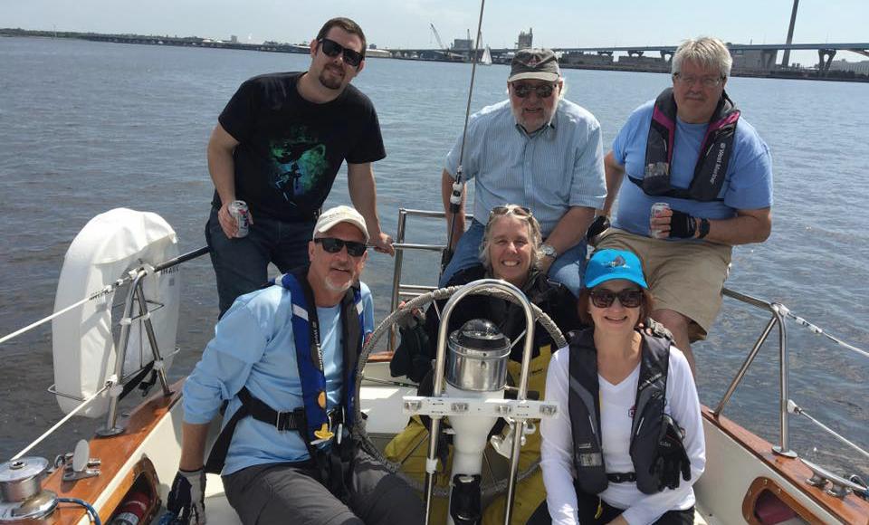 team building through sailing